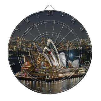 Belleza y paz del teatro de la ópera de Sydney Tablero Dardos