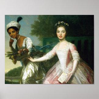 Belleza y señora Murray de Dido Elizabeth Póster