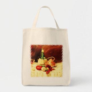 Bellezas de la cocina bolsa tela para la compra