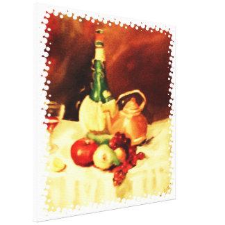 Bellezas de la cocina impresión en tela