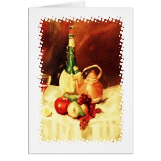 Bellezas de la cocina tarjeta de felicitación
