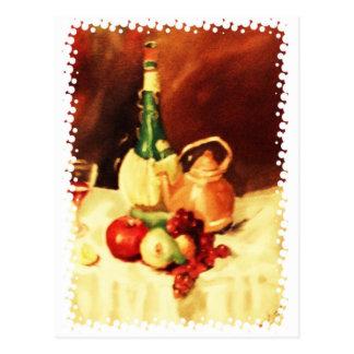 Bellezas de la cocina tarjeta postal