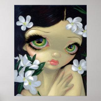 Bellezas venenosas 2: IMPRESIÓN blanca del ARTE de