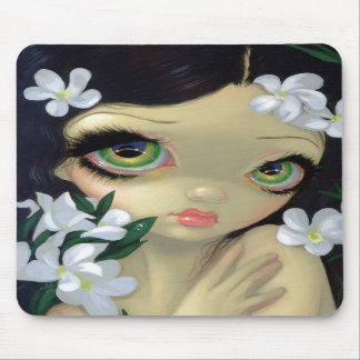 """Bellezas venenosas II: Oleander blanco"" Mousepad"