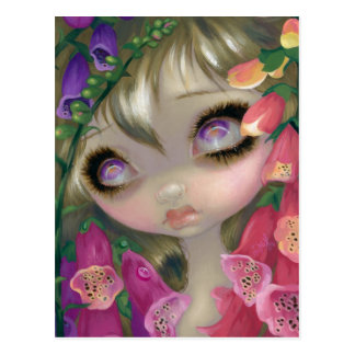 Bellezas venenosas IX Postal de los Foxgloves