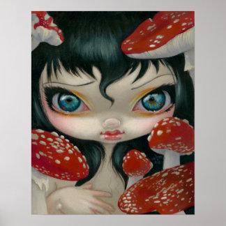 Bellezas venenosas VI:  IMPRESIÓN de la seta del a Impresiones