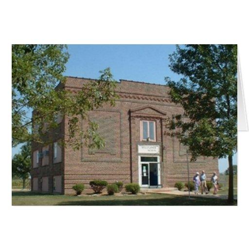 Bellflower, escuela histórica de Missouri Tarjeta De Felicitación