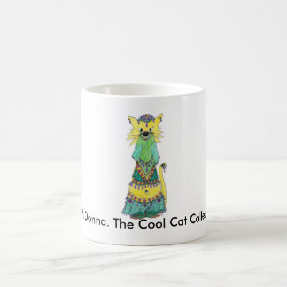 Belli Donna. The Cool Cat Collection Coffee Mug