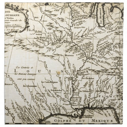 bellin s history of the louisiana territory 1757 printed. Black Bedroom Furniture Sets. Home Design Ideas