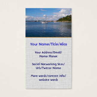 Bellingham Bay Boats Business Card