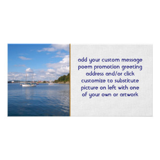 Bellingham Bay Boats Picture Card