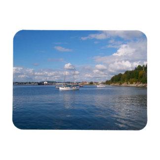 Bellingham Bay Boats Vinyl Magnet