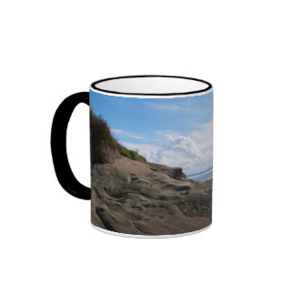 Bellingham Bay Rock Formations Coffee Mugs