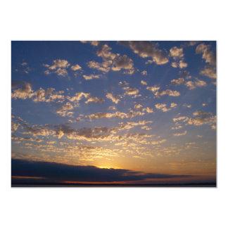 Bellingham Bay Sunset Card