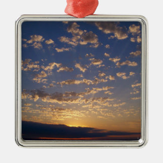 Bellingham Bay Sunset Metal Ornament