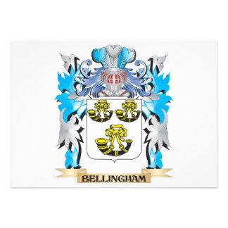 Bellingham Coat of Arms Custom Invitation