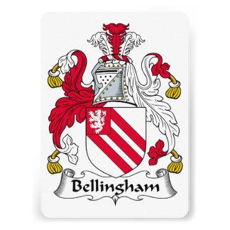Bellingham Family Crest Announcement