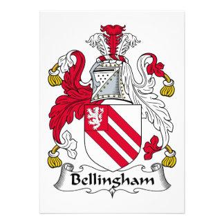 Bellingham Family Crest Invite