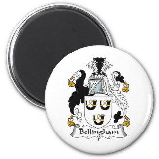 Bellingham Family Crest Refrigerator Magnets