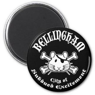 Bellingham Pirate Magnet