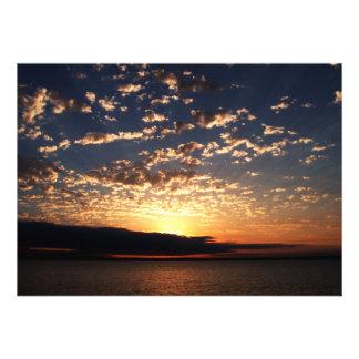 Bellingham Sunset Custom Invitations