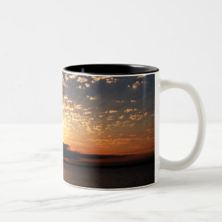 Bellingham Sunset Two-Tone Coffee Mug