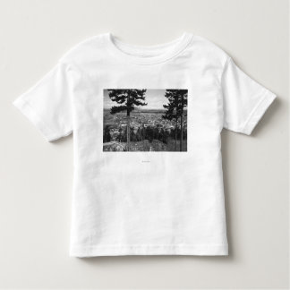 Bellingham, WA Town View from Sehome Hill Toddler T-shirt