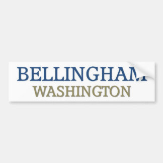 Bellingham Washington Bumper Sticker