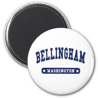 Bellingham Washington College Style t shirts Fridge Magnet