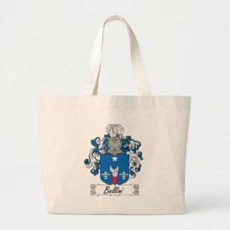 Bellini Family Crest Canvas Bags
