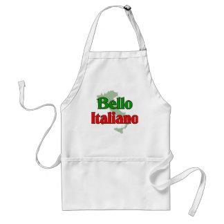 Bello Italiano (Handsome Italian Man) Adult Apron