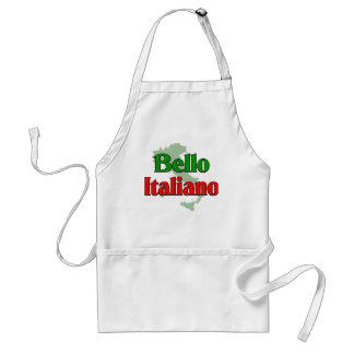 Bello Italiano (hombre italiano hermoso) Delantal