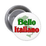 Bello Italiano (hombre italiano hermoso) Pin Redondo 5 Cm