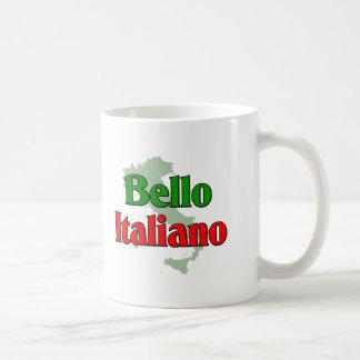 Bello Italiano (hombre italiano hermoso) Taza Básica Blanca