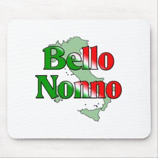 Bello Nonno (Handsome Italian Grandfather) Mouse Pad