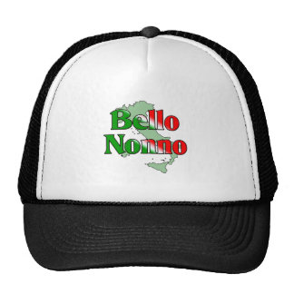 Bello Nonno (Handsome Italian Grandfather) Trucker Hat