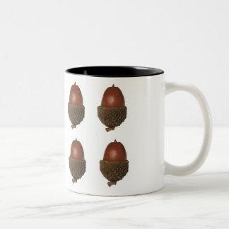 bellota taza de dos tonos