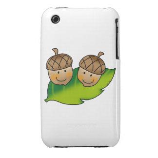 bellotas lindas iPhone 3 cárcasas