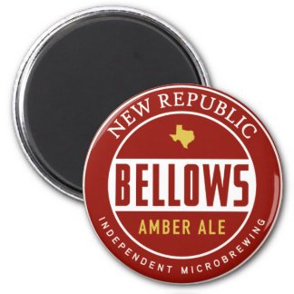 Bellows Amber Ale 2 Inch Round Magnet