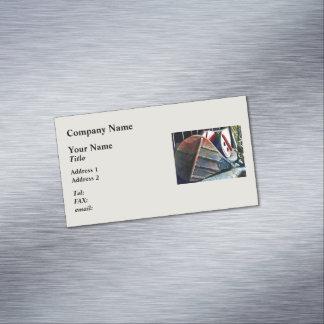 Bellows Business Card Magnet