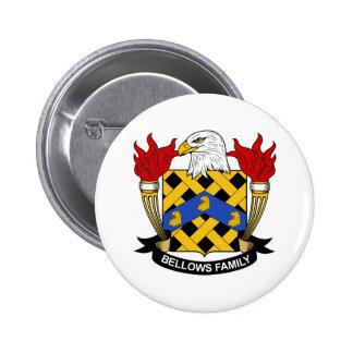 Bellows Family Crest Pins