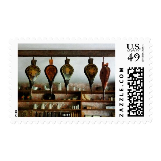 Bellows in General Store Postage