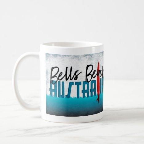Bells Beach Australia Surfboard Surfing Coffee Mug