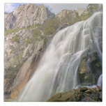 Bells Canyon Waterfall, Lone Peak Wilderness, Ceramic Tile
