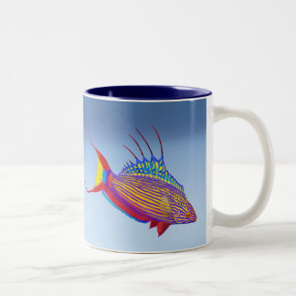 Bell's Flasher Wrasse Reef Fish Mug