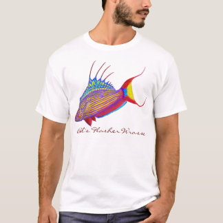 Bell's Flasher Wrasse Reef Fish T-Shirt