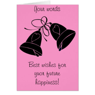 Bells of happiness card