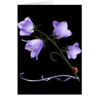 Bells of Ireland Flower Card