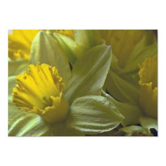 Bells On The Leaf Blades 5x7 Paper Invitation Card
