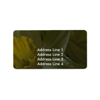 Bells On The Leaf Blades Address Label
